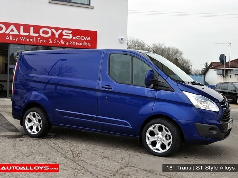 Ford Transit Custom  12 On (Custom) 18 inch RAW ST Style - Silver