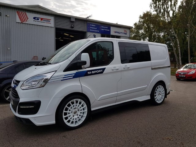 Ford Transit Custom  12 On (Custom) 20 inch Calibre T-Sport White