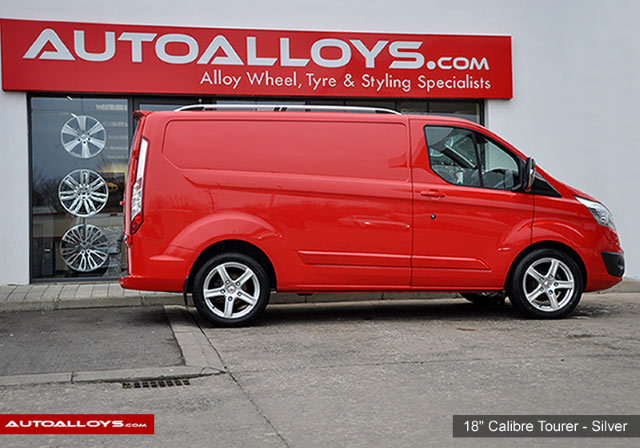 Ford Transit Custom  12 On (Custom) 18 inch Calibre Tourer Style
