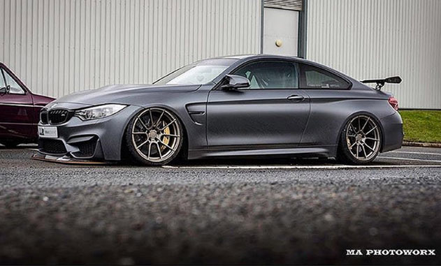 BMW 4 Series 13 On (F32) 19 inch Ispiri Wheels FFR6 Matt Carbon Bronze