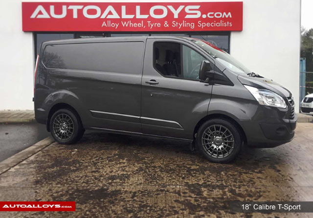 Ford Transit Custom  12 On (Custom) 18 inch Calibre T-Sport GunMetal