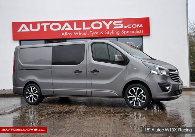 Vauxhall Vivario 14 On 18 inch Alutec W10X Racing