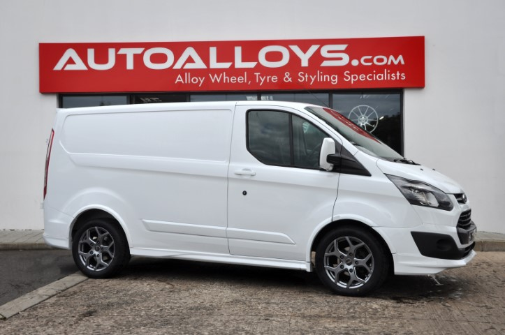 Ford Transit Custom  12 On (Custom) 18 inch Fox Viper 4 Carbon Grey Alloy Wheels