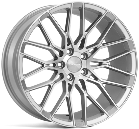 veemann vfs34 alloy wheels silver machined