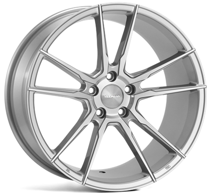 "Picture of 19"" Veemann V-FS24 Silver Machined Alloy Wheels"