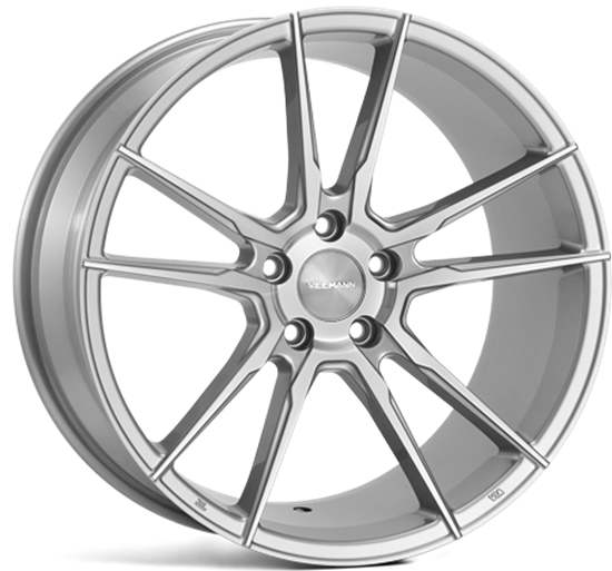 "Picture of 19"" Veemann V-FS24 Silver Machined"