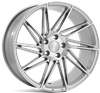 "19"" Veemann V-FS26 Silver Machined Alloy Wheels"