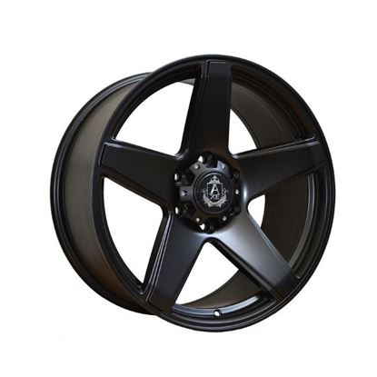 "20"" Axe At2  Matt Black Alloy Wheels"