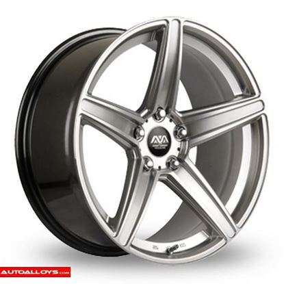 Ava Vegas Alloy Wheels Hyper Silver