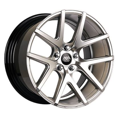 Ava Rockford Alloy Wheels Hyper Silver