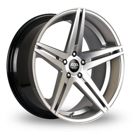 Ava Fresno 2 Alloy Wheels Hyper Silver
