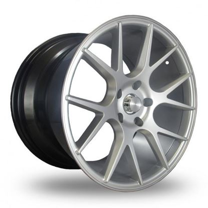 Ava DCS-2 Alloy Wheels Hyper Silver