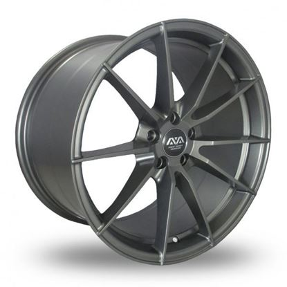 Ava Aspen Alloy Wheels Matt Gunmetal