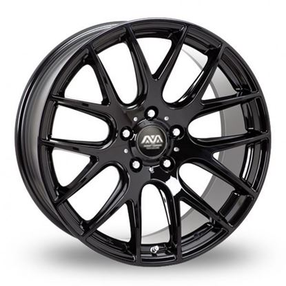 Ava Phoenix Alloy Wheels Gloss Black