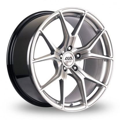 Ava Dallas Alloy Wheels Hyper Silver