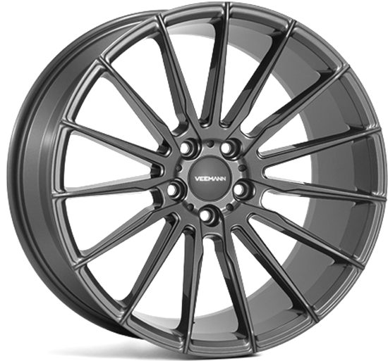 "19"" Veemann V-FS19 Gloss Graphite Alloy Wheels"