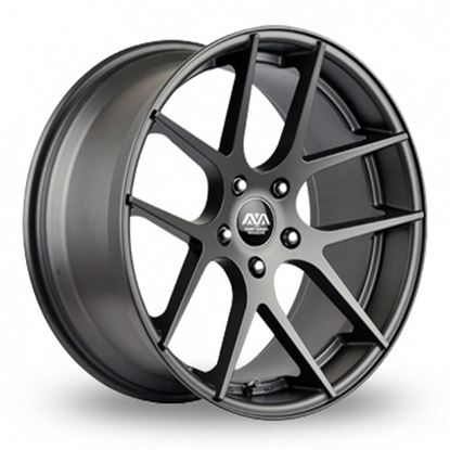 Ava Memphis Alloy Wheels Gunmetal