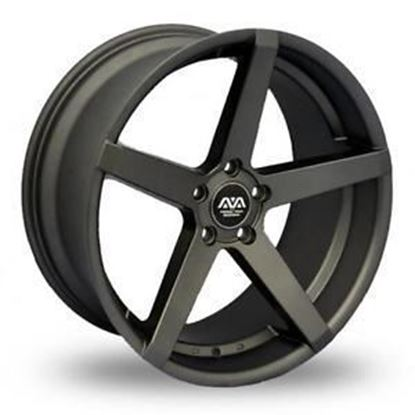 Ava Miami Alloy Wheels Matt Gunmetal