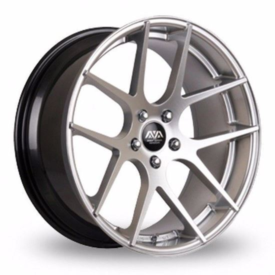 Ava Memphis Alloy Wheels Hyper Silver