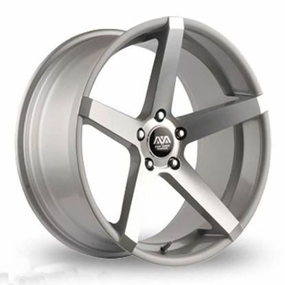 Ava Miami Alloy Wheels Hyper Silver