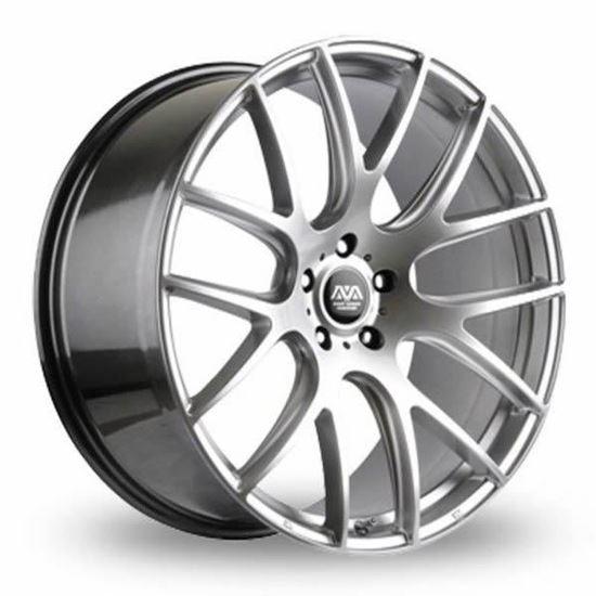 ava phoenix alloy wheels hyper silver