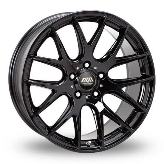 Ava Phoenix Alloy Wheels Gloss Black