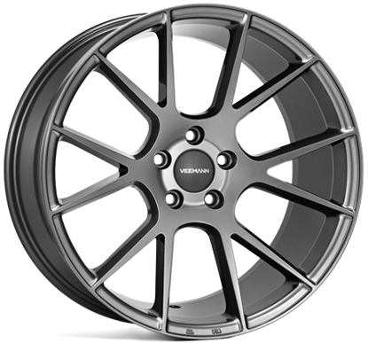 18 inch VEEMAN Alloys, V-FS23 Gloss Graphite, Auto Alloys, UK & Ireland