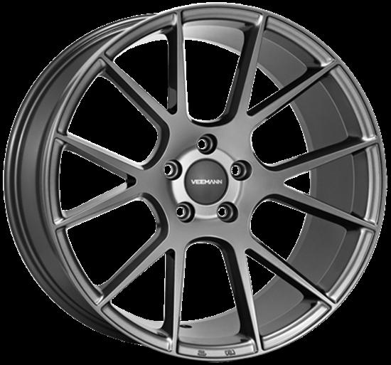 18 inch VEEMAN Alloys, V-FS23 Gloss Graphite, Auto Alloys, UK & Ireland