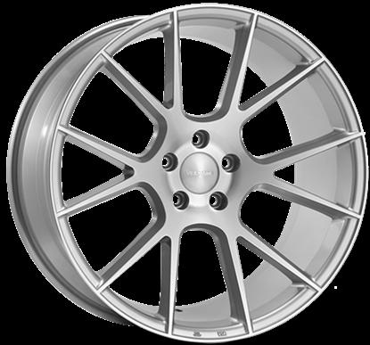 Veemann V-FS23 Silver Machined Alloy Wheels