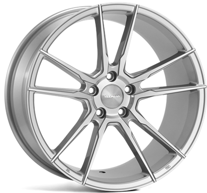 "Picture of 20"" Veemann V-FS24 Silver Machined Alloy Wheels"