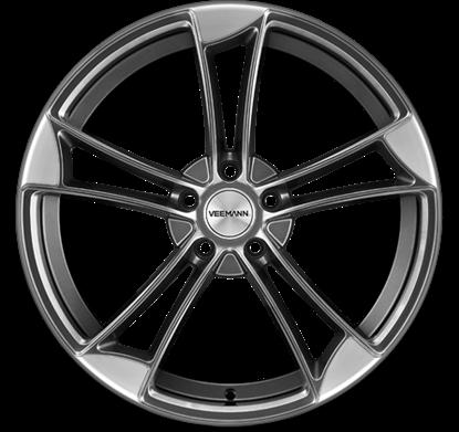"19"" Veemann VM1 Sapphire Grey Alloy Wheels"