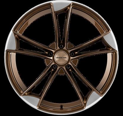 """19"""" Veemann VM1 Crystal Bronze Alloy Wheels"""