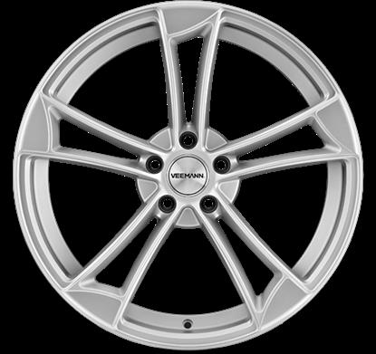 "20"" Veemann VM1 Satin Silver Alloy Wheels"