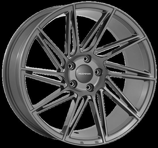 """19"""" Veemann V-FS26 Gloss Graphite Alloy Wheels"""