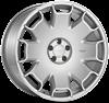 "18"" Ispiri CSR2 Pure Silver Alloy Wheels"