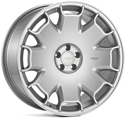"18"" Ispiri CSR2 Pure Silver Alloy Wheels"