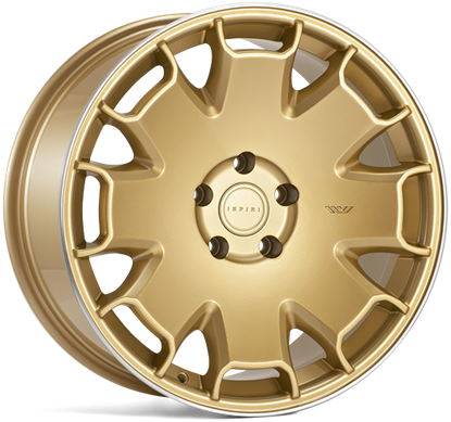 "19"" Ispiri CSR2 Vintage Gold Alloy Wheels"