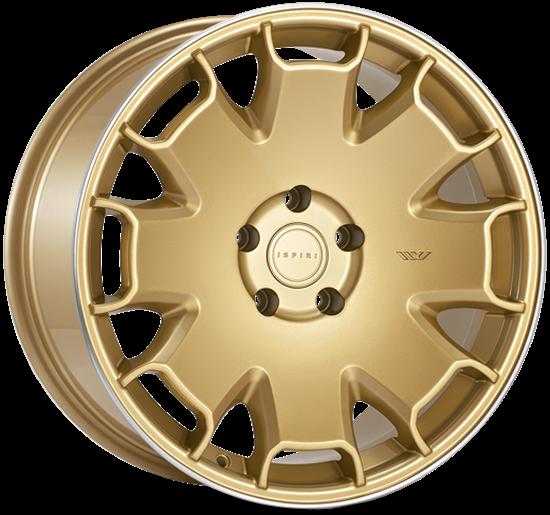 "19"" Ispiri CSR2 Vintage Gold Alloy Wheels"