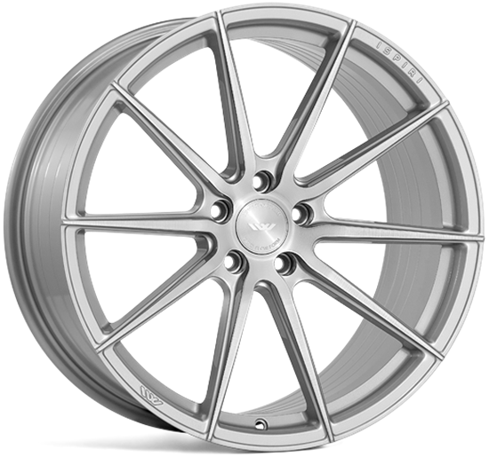 "19"" Ispiri FFR1 Pure Silver Alloy Wheels"