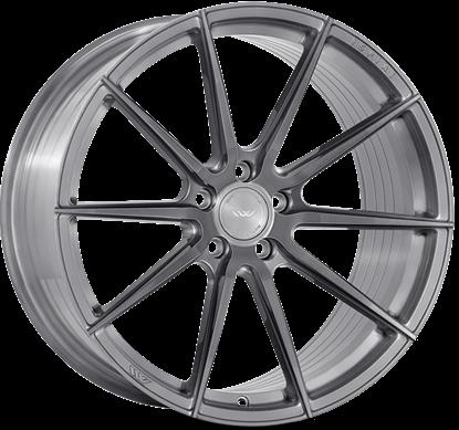 "19"" Ispiri FFR1 Full Brushed Carbon Titanium Alloy Wheels"