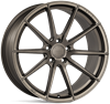 "20"" Ispiri FFR1 Matt Carbon Bronze Alloy Wheels"