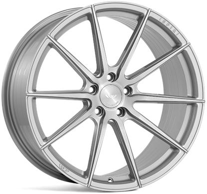 "21"" Ispiri FFR1 Pure Silver Alloy Wheels"