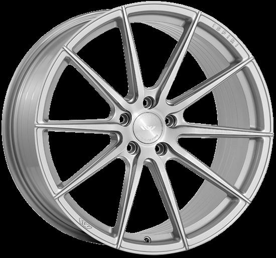 """21"""" Ispiri FFR1 Pure Silver Alloy Wheels"""
