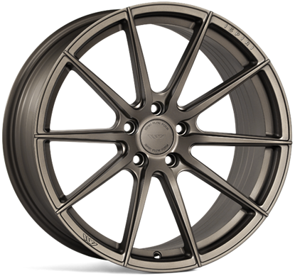 "21"" Ispiri FFR1 Matt Carbon Bronze Alloy Wheels"