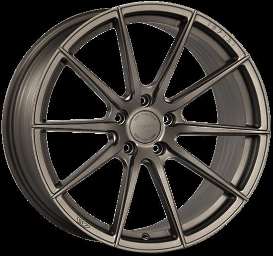 "21"" Ispiri FFR1 Matt Carbon Bronze Alloy Wheels"