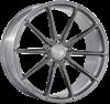 "21"" Ispiri FFR1 Full Brushed Carbon Titanium Alloy Wheels"