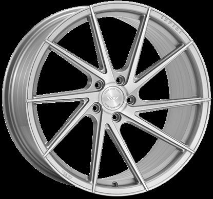 """20"""" Ispiri FFR1D Pure Silver Alloy Wheels"""