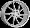 """21"""" Ispiri FFR1D Pure Silver Alloy Wheels"""