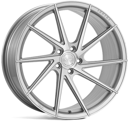 "21"" Ispiri FFR1D Pure Silver Alloy Wheels"