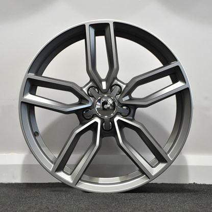 RAW S3 Style Alloy Wheels - Gunmetal